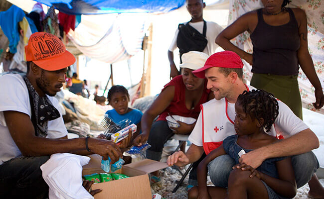 Haiti British Red Cross