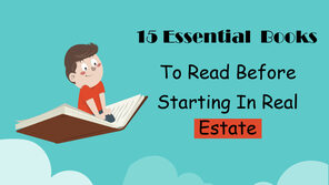 15 Essential Books To Read Before Starting In Real Estate